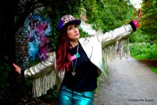 Meg Mosley at Parkland Walk, Crouch End