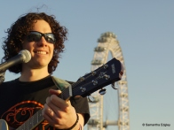 Mitch Daniels - Busking at the Southbank
