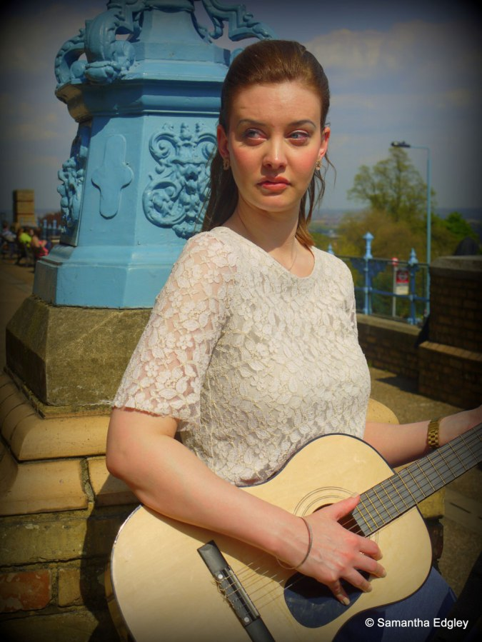 Helen with guitar