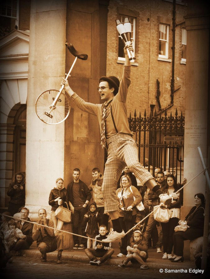 The Street Performer - Covent Garden