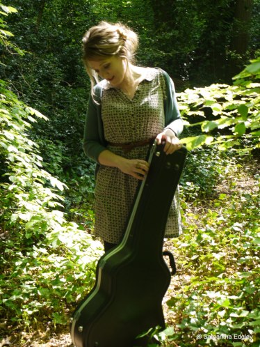 Rachel Elliott at Highgate Woods