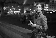 Helen at Trafalgar Square